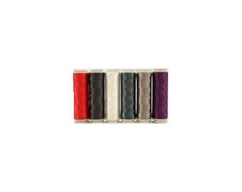 WonderFil InvisaFil Thread Set B005 - Six Spools of 400m 100wt Cottonized Polyester