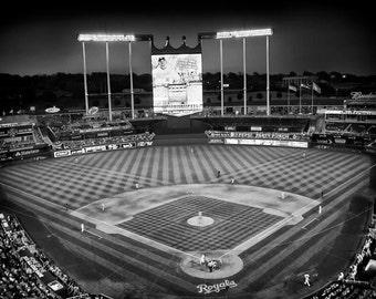 Kansas City Royals Baseball Stadium in Kansas City Missouri Art Print Photo