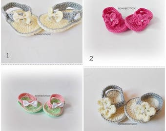 Wholesale Baby Flip Flops Baby Sandals  Summer Baby Shoes Crochet Baby Sandles  Girl Sandles 10 pairs