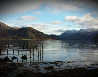Ennerdale Water, The Lake District, England. Wall art photograph.