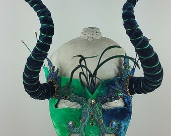 Green Masquerade Mask//Blue Masquerade Mask//Masquerade Mask//Mask Masquerade//Halloween Mask//Mardi Gras Mask//Mask//Mens Masquerade Mask