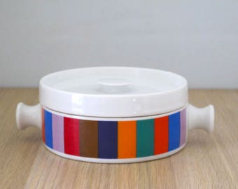 Vintage 1960's Small Covered Casserole Dish