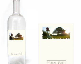 Home Brew Online Premium Quality Water Proof Labels - Plain 30 Pack