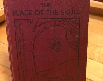 The Place of the Skull by Ella Waldron Winston / Vintage Book / Vintage Novel / FIRST EDITION / Mystery / Old Book / Antique Book / Gift