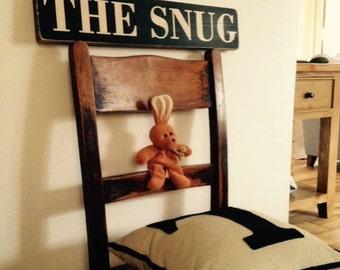 snug sign Vintage old style wooden plaque handmade wooden sign wood plaque vintage style