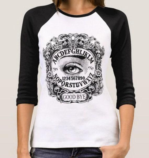 Mystic Eye Ouija Board Raglan Shirt