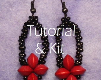 Simple Stitched Saucer Swingers Earring Kit and Tutorial - bracelet seen in Easy Jewelry Making