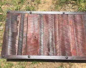 Antique factory pallet / table
