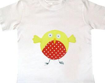 Bird T-Shirt / Boys Tee Shirt / Girls Top / Baby Clothes