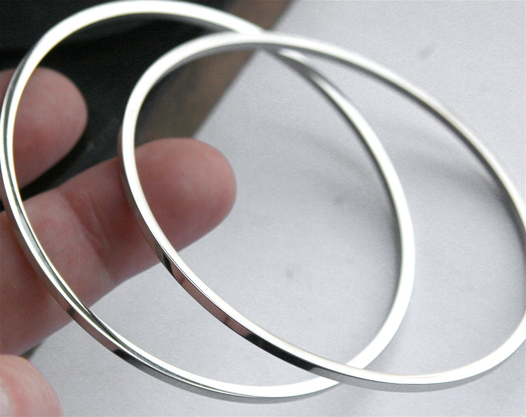 bangle by bali alibalijewellery square smooth silver original bracelet product ali bangles jewellery