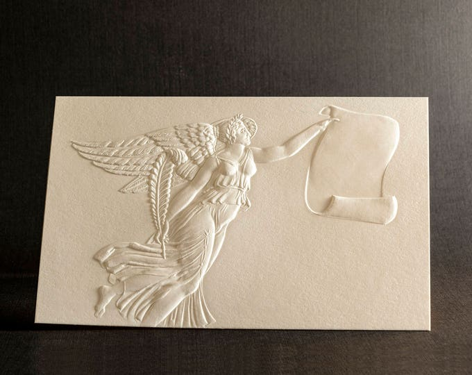 8 Angel Cards.  Christmas Angel. Set of cards White Christmas cards. New beginings card. Blank inside.