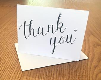 Thank You Card A7