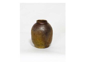 raku vase, farmhouse decor, home decor, gift for her, rustic, rustic decor, handmade, ceramic vase, ikebana vase, pottery handmade