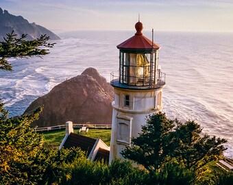 Heceta Head Lighthouse - Fine Art Photography - William Britten