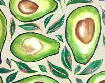 Avocado | 11 x 14 Signed Giclee Print
