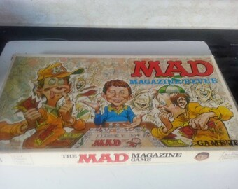 "Vintage ""MAD Magazine"" Board Game"