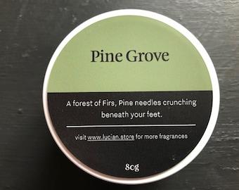 Pine Grove- Travel tin candle 4oz