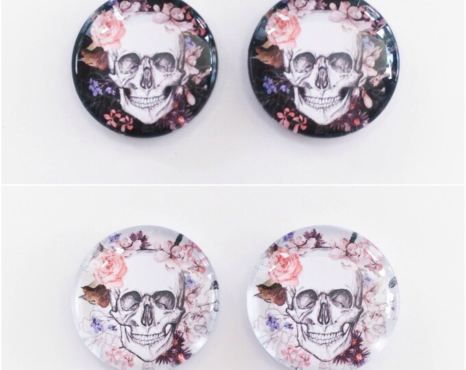 The 'Camilla' Glass Earring Studs