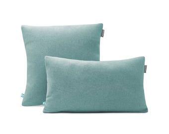 Decorative Pillow Case FELT Blue