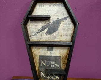 Coffin Shelving: The Raven