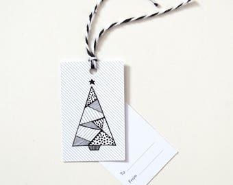 Christmas Gift Tags - Tree