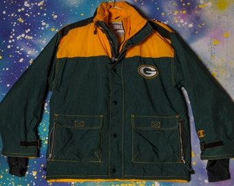 Green Bay PACKERS Football Starter Jacket Size L