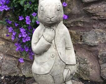 Stone Peter rabbit Beatrix potter Character Garden Ornament