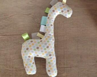 Taggy Giraffe Soft Baby Toy
