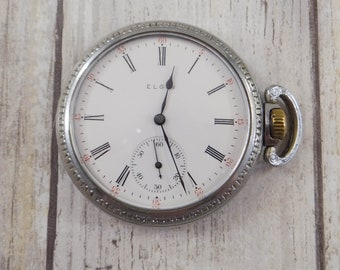 Antique Pocket Watch by Elgin from 1918