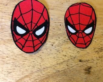 Spider-Man Iron On Appliqués