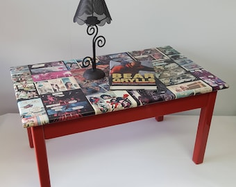 comic book furniture. Cool Comic Book Coffee Table - Please See Full Description For Shipping Fee. Furniture