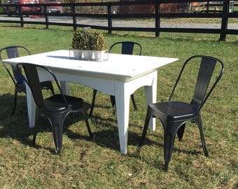 SOLD Modern Farmhouse Table LOCAL PICKUP