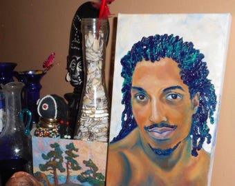 Custom Original Portrait Painting in Oil on Canvas by Chantee B