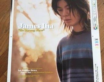 James Iha - Be Strong Now Art Proof - Smashing Pumpkins - Billy Corgan