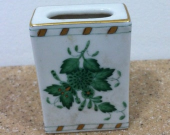 Porcelain Match Box