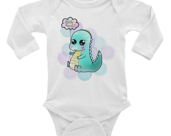 "Long Sleeve Bodysuit ""DINO"""