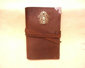 Sale-Journal-Stoned Oil Leather-Special Pricing