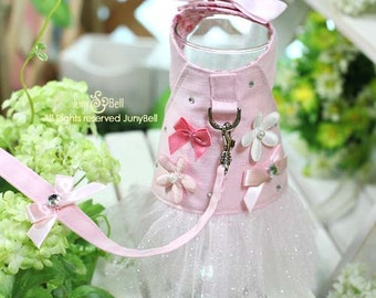 My Sweet Heart  Harness-set with leash / Free Shipping