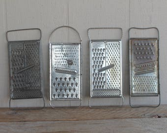 Vintage Cheese Grater // All-in-One Cheese Grater // Rustic Home Decor