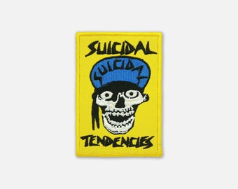 Suicidal Tendencies embroidered patch Thrash Metal/Crossover band