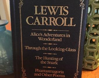 Alice's Adventures In Wonderland Lewis Carroll 1984 Hardcover Vintage Book