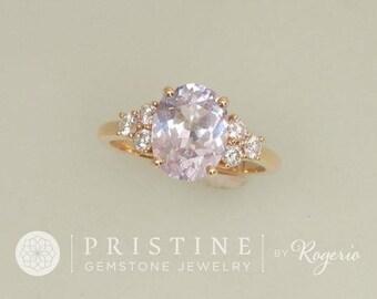 Classique diamant accentués bague monture semi principale Pierre vendu séparément