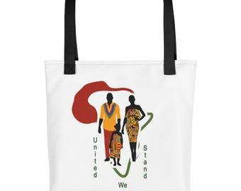 Personalized, Tote bag, Kente, Map of Africa, Kente print, Birthday