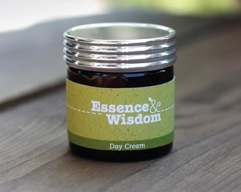 50ml. Day Cream ~ blended using Aromatherapy oils of Mandarin, Geranium and Lavender.