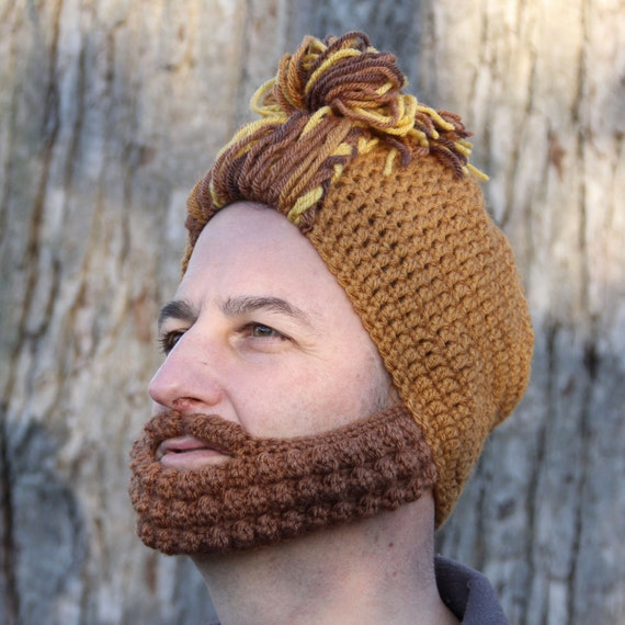 Items similar to Crochet Hat for Him, Man Bun Hat, The Nashville on Etsy