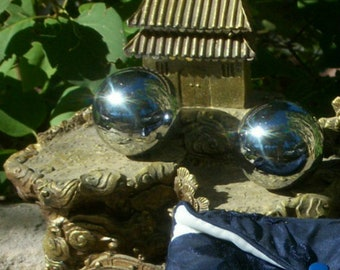 MASSAGE BALLS - Hand & Foot Reflexology ~ Acupressure Balls ~ Chi Gong Balls ~ Chinese Exercise Balls ~ Unisex Gift