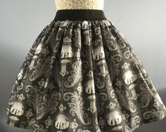 Ladies or girls Harry Potter inspired The Three Brothers full skater style skirt