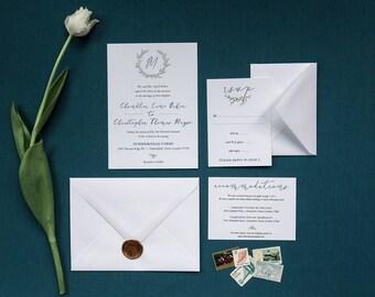 The Chandler, Wedding Invitation Suite, Wedding Invitations, Wedding Programs, Wedding, Rsvp Cards, Wedding Invites Printable, Wedding Paper