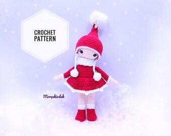 Christmas Girl Pattern