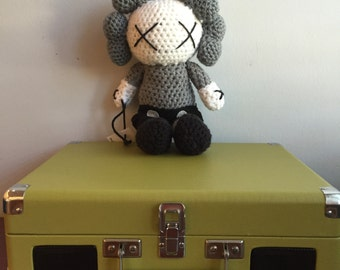 Custom Crochet Kaws doll
